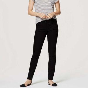 LOFT Brand New, Modern Skinny Jeans in Black 24/00